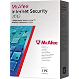 McAfee Internet Security  2012, 1 PC, 12 month Subscription (PC)by McAfee