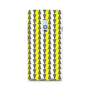 Ebby Yellow and White Cards Premium Printed Case For OnePlus Two