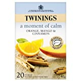 Twinings Orange, Mango and Cinnamon 20 Teabags (Pack of 4, Total 80 Teabags)