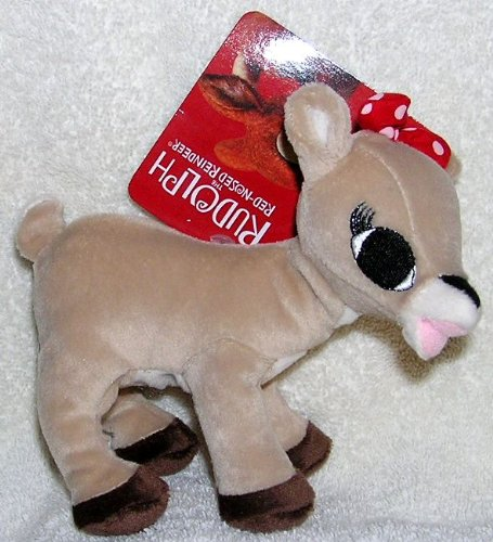Small Clarice Plush Reindeer Toy