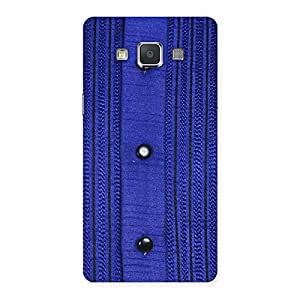 Royal Blue Sweat Print Back Case Cover for Galaxy Grand Max