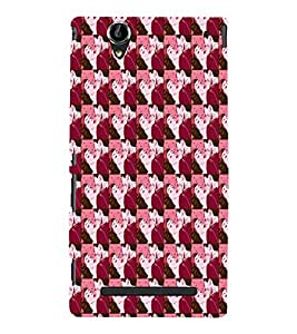EPICCASE romantic kiss Mobile Back Case Cover For Sony Xperia T2 (Designer Case)