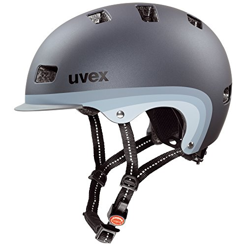 Uvex-Fahrradhelm-City-5-Dark-Silver-Metallic-Mat-55-58-4101850417