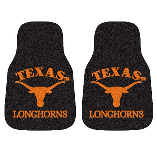 Fanmats University of Texas Car Mats  5641