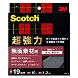 3M スコッチ 超強力両面テープ 粗面素材用 19mm×10m PRO-19
