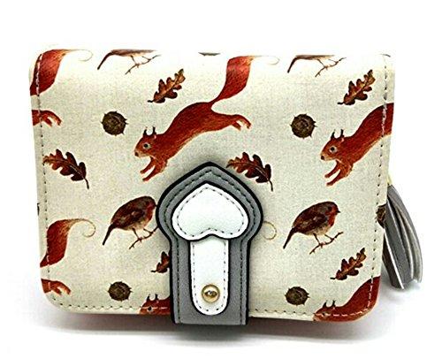 imur-womens-clutch-wallet-cute-print-purse-with-tassel-zipper