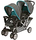 Graco 1864902 DuoGlider DragonFly Stroller, Black/Green