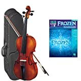 Strunal 1750 Student Violin Frozen Play Along Pack - 3/4 Size European Violin w/Case & Play Along Book