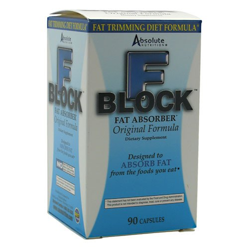 FBlock Xtra, Fat Absorber, 90 Capsules, From Absolute Nutrition