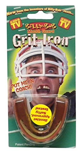 Billy Bob Grit Iron Mouth Guard with Teeth -As Seen On TV