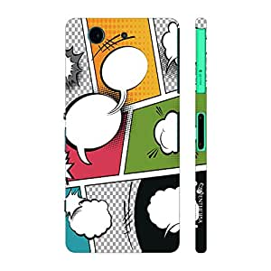 Enthopia Designer Hardshell Case Laugh Riot Back Cover for Sony Xperia Z4 Mini