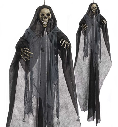 Forum Scary Hanging Skeleton Reaper Halloween Party Decoration