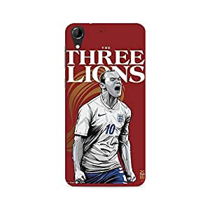 Ebby The Three Lions Premium Printed Case For HTC Desire 728