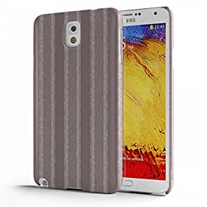 Koveru Designer Printed Protective Snap-On Durable Plastic Back Shell Case Cover for Samsung Galaxy Note 3 - Brown Swatches