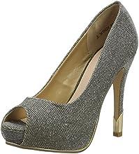 New Look Ram Routes - Glittler Platform, Women's Open-toe heel