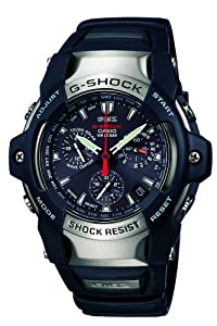 Casio Men's GS1100-1A G-Shock GIEZ Series Multi-Band Solar Atomic Watch