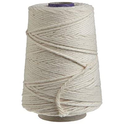 Regency Natural Cooking Twine 1/2 Cone 100% Cotton 500ft New