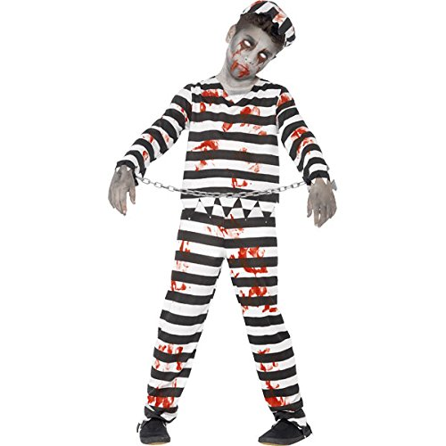 New-Kids-Halloween-Zombie-Convict-Boys-Fancy-Dress-Party-Costume
