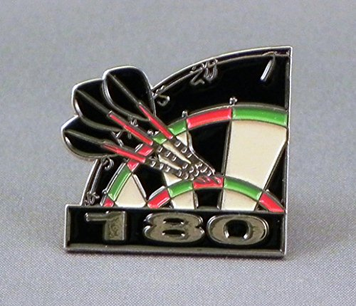 metal-enamel-pin-badge-brooch-dart-arrows-dartboard-180-throw-high-score