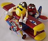 M&M's/M&M*SPENDER/DISPENSER*BARNSTORMING RIDES Flugzeug rot mit RED & YELLOW als Pilot *neu