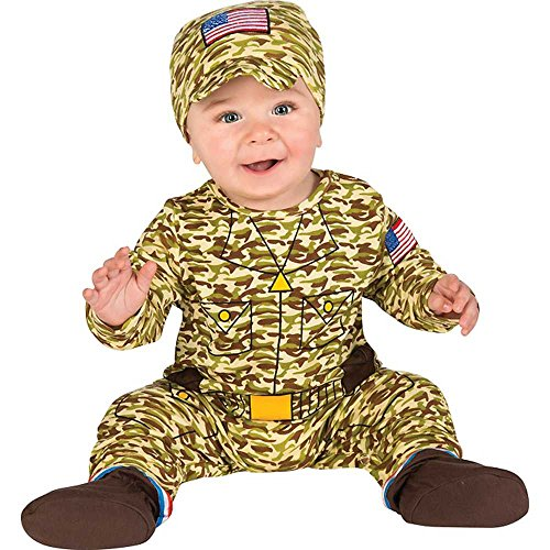 Baby's First Halloween Army Man