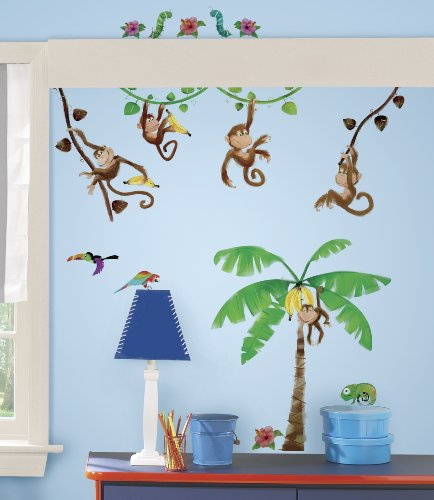 Monkey Themed Bedroom front-501062