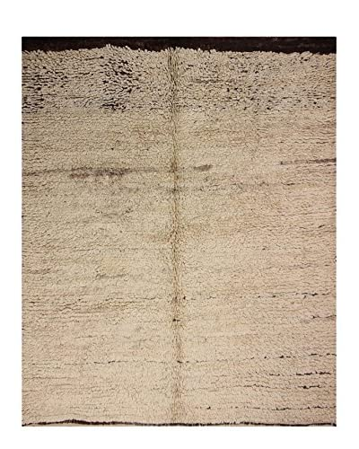 nuLOOM One-of-a-Kind Hand-Knotted Roy Berber Shag Rug, Natural, 5' 5 x 6' 8