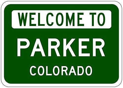 Parker City Sign