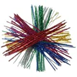 Tinsel Stems / Pipe Cleaners Multi (60pcs)