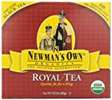 Newmans OwnOrganics Royal Tea, Organic Black Tea, 100 Individually Wrapped Tea Bags, 7.05-Ounce Boxes (Pack of 5)