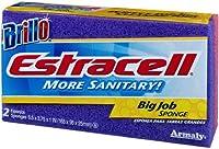 Brillo Estracell Big Job Sponge, 2 Count