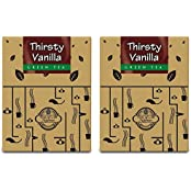 Teas Of All Nations Green Tea Thirsty Vanilla Pack Of 2 50 Gms Each