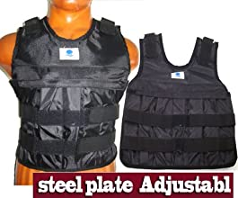 Adjustable Weighted Vest Weight Jacket Exercise Fitness Boxing Training 1-57lbs