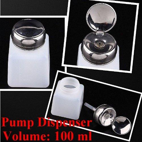 free nail polish samples 2pc 100ML Pump Dispenser Bottle Nail Art Makeup Tool J0212-1