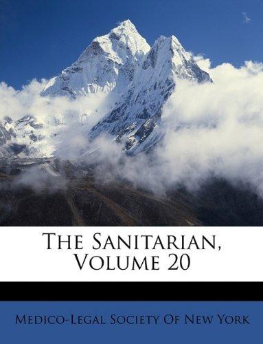 The Sanitarian, Volume 20