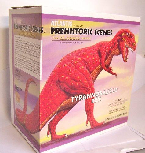 Prehistoric Scenes Giant Tyrannosaurus Rex 1/13 Atlantis Model Company (Tyrannosaurus Rex Model compare prices)