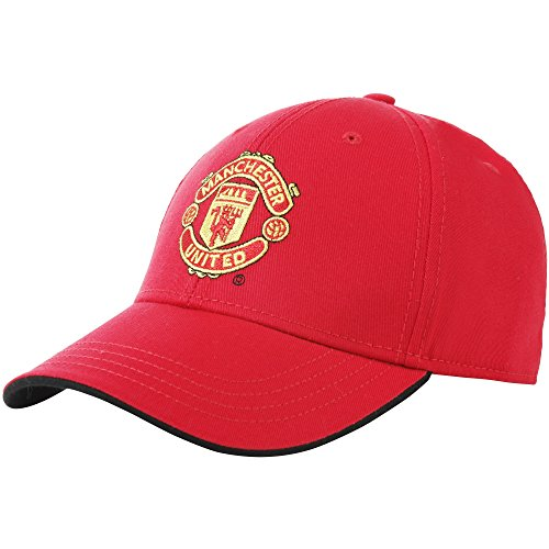 Official Football Merchandise Adult Manchester United FC Core Baseball Cap (One Size) (Red) (Manchester United Hats And Caps compare prices)