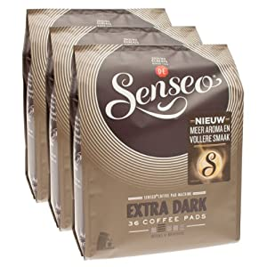 Senseo Extra Strong, Pack of 3, 3 x 36 Coffee Pods