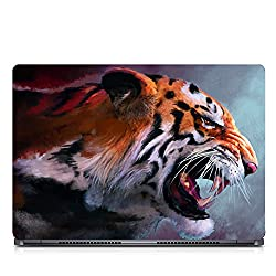 Inktree Vinyl Lionroar Matte Finish Adhesive Laptop Skin (15 inch x 10 inch, Mulicolor)