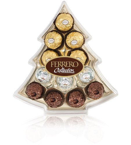 Ferrero Christmas Tree Gift Box Collection, 12-Count (Pack of 6)