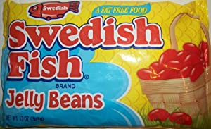 Swedish fish jelly beans 13oz bag 3 pack for Swedish fish jelly beans