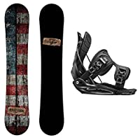 Camp Seven Drifter Snowboard and Flow Bindings Snowboard Package by Camp Seven