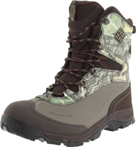 Columbia Men's Bugaboot Plus Grp Cold Weather Boot,Turkish Coffee/ Camo,10 M US