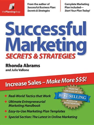 Successful Marketing: Secrets & Strategies