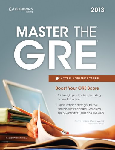 Master The Gre 2013 (Peterson'S Master The Gre)