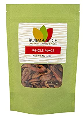 Whole Mace in Bag, 2oz. by Burma Spice