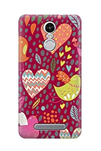 ZAPCASE PRINTED BACK COVER FOR REDMI NOTE 3 - Multicolor