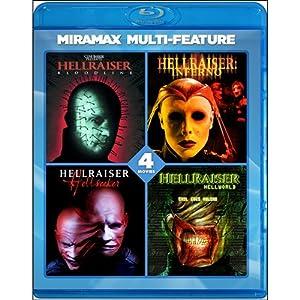 Hellraiser 4 Film Series [Blu-ray]