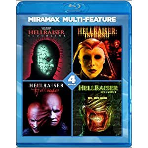 Hellraiser 4 Film Series [Blu-ray]