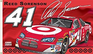 Buy #41 Reed Sorenson Flag 3x5 Target Car 2 Sided by BSI